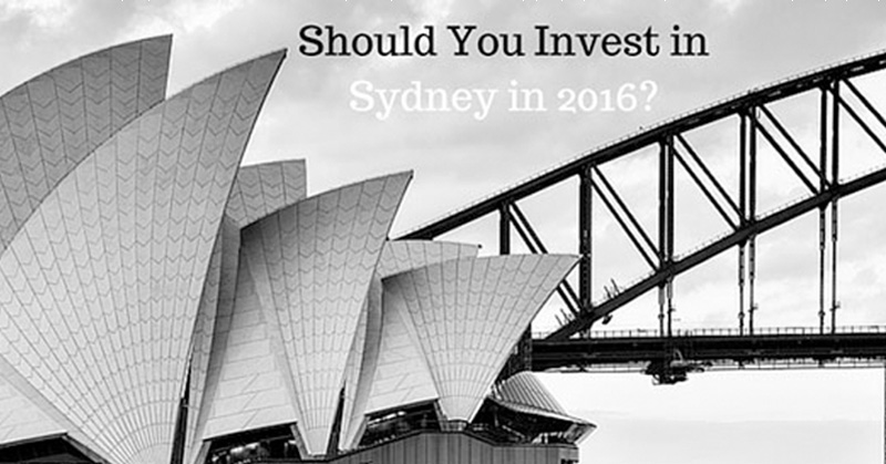 The 5 Reasons Why You Should NOT Buy An Investment Property in Sydney in 2016