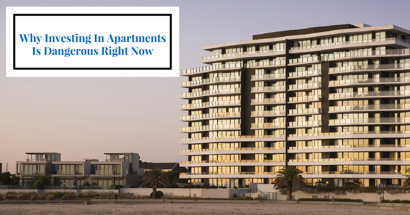 The 3 Dangers of Investing in Apartments Right Now