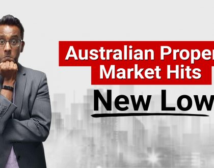 Australian Property Market Hits a New Low – Why Smart Property Investors Are Jumping In